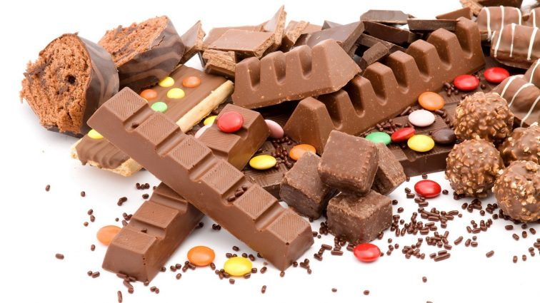 candy chocolate 756x425 - Bad News Foods: 10 Human Foods You Shouldn't Give Your Pets