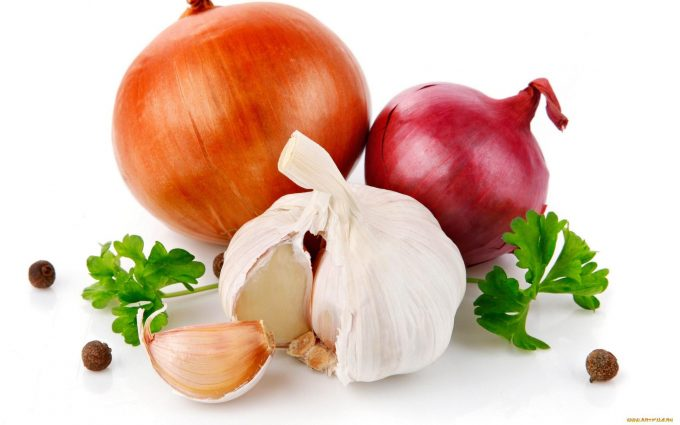 onions and garlic 680x425 - Bad News Foods: 10 Human Foods You Shouldn't Give Your Pets
