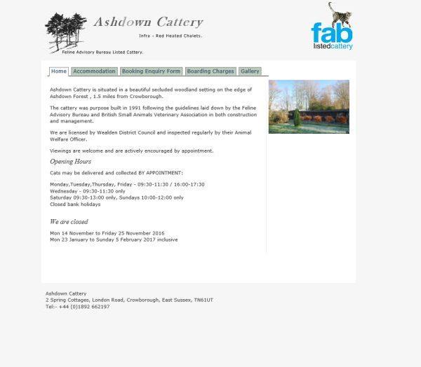 Ashdown Cattery