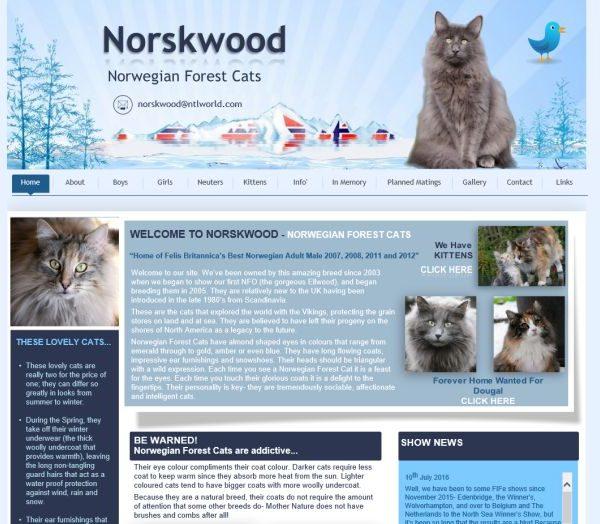 Norskwood Norwegian Forest Cats