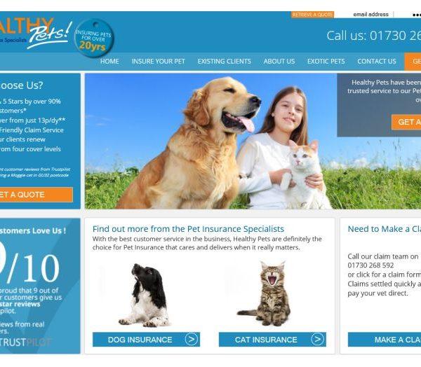Healthy Pets pet insurance