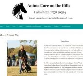 Animal Care on the Hills