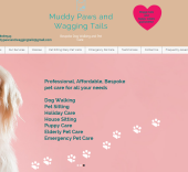 muddy paws and wagging tails